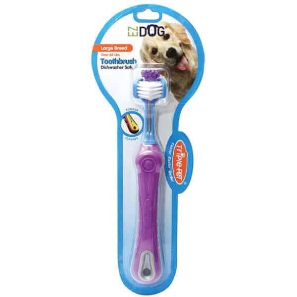 ez-dog-triple-pet-toothbrush