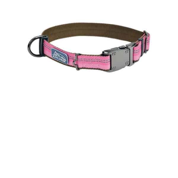 k9-explorer-1reflective-adjustable-collar-pink