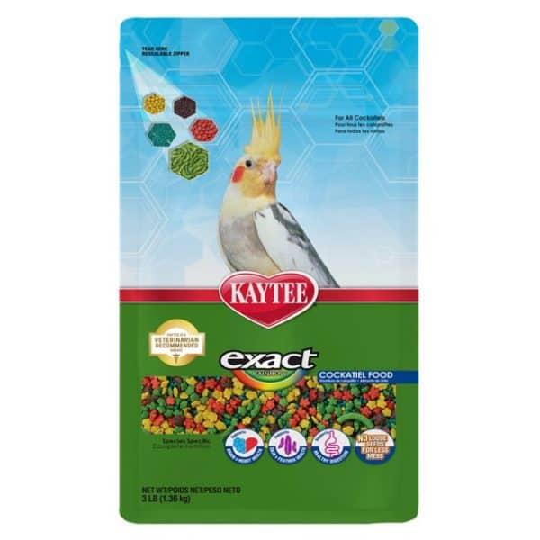 Exact Rainbow Nutrition Cockatiel Bird Food 3 lb