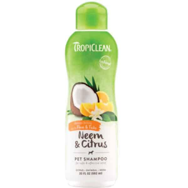 tropiclean-neem-flea-tick-shampoo