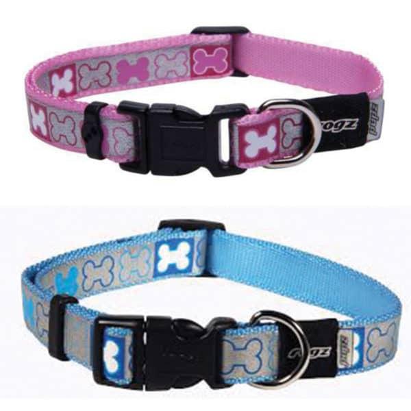 rogz-pupz-reflecto-dog-collars