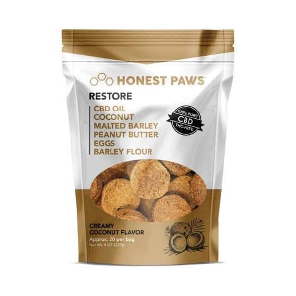 restore-creamy-coconut-flavored-cbd-treats-for-dogs
