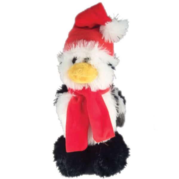 holiday-fluffy-penguin-dog-toy