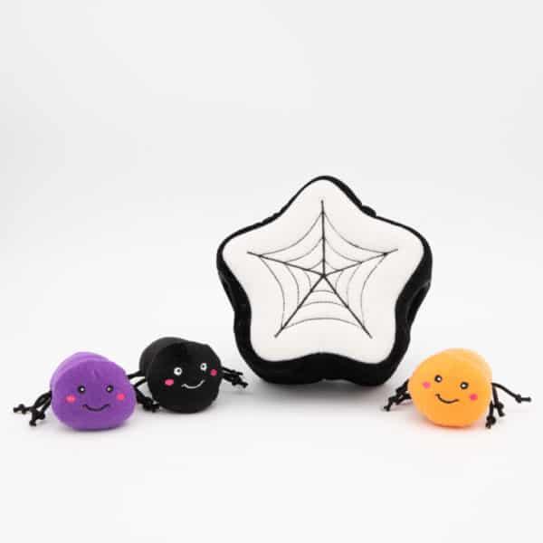 zippy-paws-halloween-burrow-spider-web