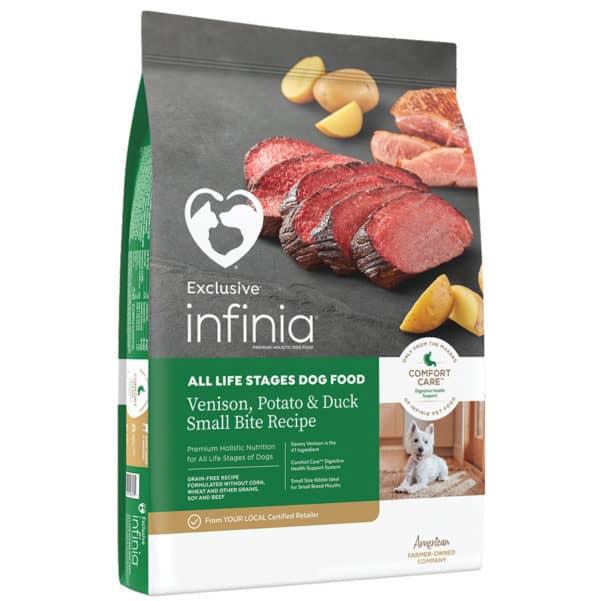 infinia-venison-potato-duck-dog-food